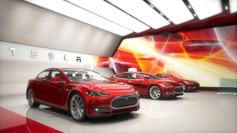 Tesla New York International Auto Show Proposal Concept A Infusion Studios
