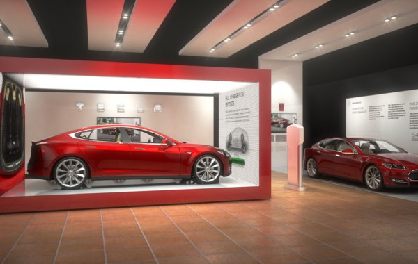 TESLA – NEW YORK INTERNATIONAL AUTO SHOW PROPOSAL CONCEPT B