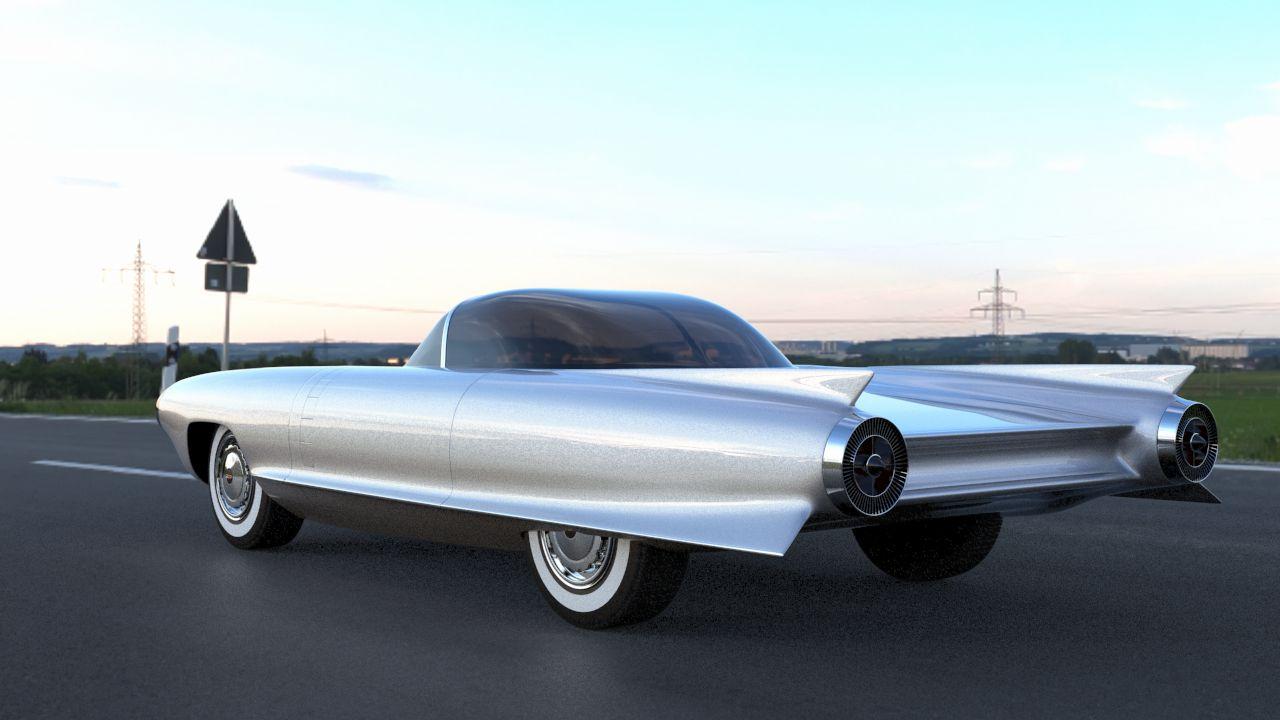 Cadillac Of Portland >> 1959 CADILLAC CYCLONE MODEL | Infusion Studios